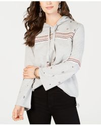 Style & Co. - Embroidered Cotton Pullover Hoodie, Created For Macy's - Lyst