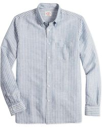 a14dacdf6 Lyst - Brooks Brothers Regent Slim-fit Non-iron Polo Button Down ...