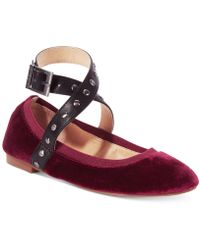 Charles David - Charles By Dean Strap Flat - Lyst