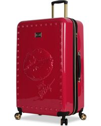 "Betsey Johnson - Lips 30"" Hardside Expandable Spinner Suitcase - Lyst"