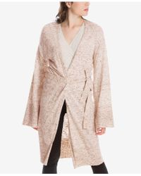 Max Studio - Belted Cardigan, Created For Macy's - Lyst