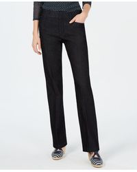Charter Club Tummy Control Trouser, Created For Macy's - Black