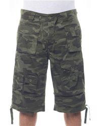 "Sean John - Classic Flight Cargo 14"" Shorts, Created For Macy's - Lyst"