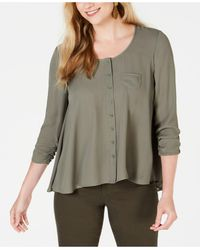 Style & Co. High-low Swing Top, Created For Macy's - Multicolor