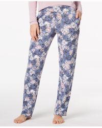 Alfani - Knit Floral-print Pyjama Trousers - Lyst
