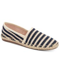 Charter Club Joeey Espadrille Flats, Created For Macy's - Blue