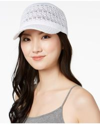 INC International Concepts - Crochet Packable Baseball Cap, Created For Macy's - Lyst