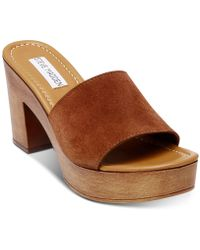 7e956c7264a Five Worlds By Cordani 'manzanillo' Wooden Wedge Sandal in Brown - Lyst