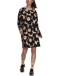 adidas Marimekko Fleece Dress - Black
