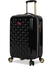 "Betsey Johnson - Heart To Heart 20"" Hardside Expandable Carry-on Spinner Suitcase - Lyst"
