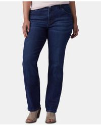 Lee Platinum - Plus Size Straight-leg Jeans - Lyst