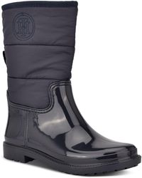 Tommy Hilfiger Snows Rain Boots - Blue
