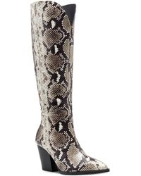 INC International Concepts Suke Western Boots, Created For Macy's - Multicolour