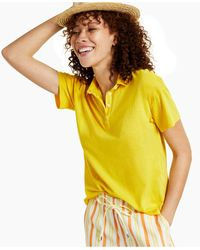 Style & Co. Petite Polo Shirt, Created For Macy's - Yellow