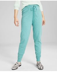 Charter Club Cashmere Jogger Pants, In Regular And Petites, Created For Macy's - Blue