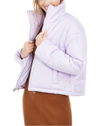 Celebrity Pink - Juniors' Cropped Puffer Coat - Lyst