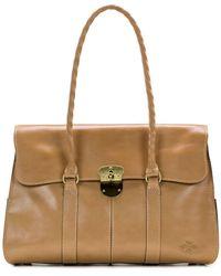 Calvin Klein Armeno Vintage Washed Leather Crossbody - Multicolor
