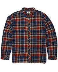 Billabong Coastline Flannel Shirt - Blue
