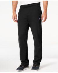 Champion Men's Fleece Powerblend Pants - Black