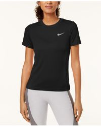 Nike - Miler Dry Running Top - Lyst