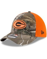 brand new 2a800 7987c KTZ Tampa Bay Buccaneers Realtree Camo Team Color Neo 39thirty Cap for Men  - Lyst