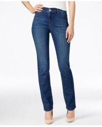 Style & Co. Tummy-control Slim-leg Jeans - Blue