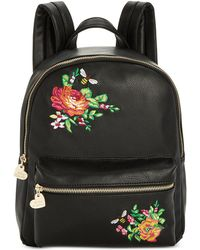Betsey Johnson - Embroidered Backpack - Lyst