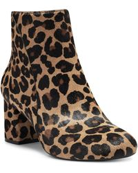 INC International Concepts Farren Booties, Created For Macy's - Brown