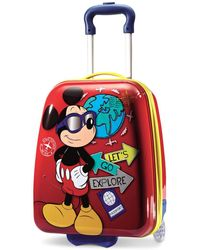 """Disney - Mickey Mouse 18"""" Hardside Rolling Suitcase By American Tourister - Lyst"""