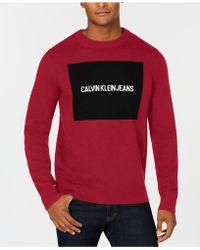 Calvin Klein - Logo Sweater - Lyst