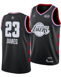 official photos 99d8a 98cc7 Nike - Lebron James Los Angeles Lakers All-star Swingman Jersey - Lyst