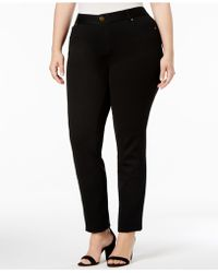 INC International Concepts - Plus Size Skinny Ponte Pants, Only At Macy's - Lyst