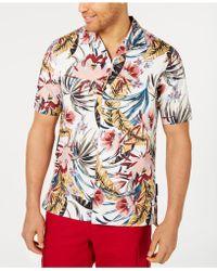 Sean John - Floral Resort Shirt - Lyst