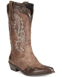 Mojo Moxy - Dolce By Quiggly Western Cowboy Boots - Lyst