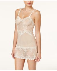 Wacoal Embrace Lace Chemise Nightgown 814191 - Natural