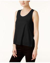 Eileen Fisher - Silk Scoop-neck Tank Top - Lyst