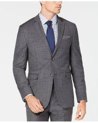Original Penguin - Slim-fit Sharkskin Solid Suit Jacket - Lyst