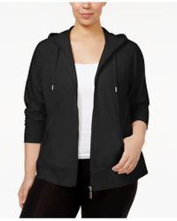 Style & Co. - Plus Size Zip Hoodie - Lyst