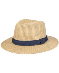 Levi's Textured Fedora Hat - Multicolor