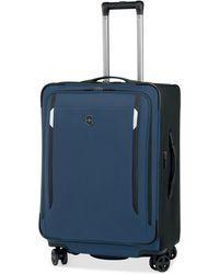 "Victorinox - Werks Traveler 5.0 24"" Dual Caster Spinner Suitcase - Lyst"