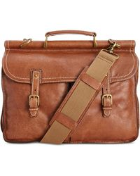 Patricia Nash - Men's Leather Dowel Briefcase - Lyst