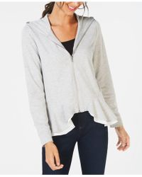 INC International Concepts - I.n.c. Layered Peplum Hoodie, Created For Macy's - Lyst