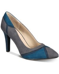 Rialto - Morgana Colorblocked Court Shoes - Lyst