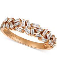 Le Vian - ® Diamond Baguette Statement Ring (1/2 Ct. T.w.) In 14k Rose Gold - Lyst