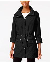 Style & Co. - Tunic-length Anorak Jacket - Lyst