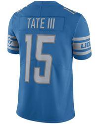 235b1eabbcbc Nike - Golden Tate Detroit Lions Vapor Untouchable Limited Jersey - Lyst