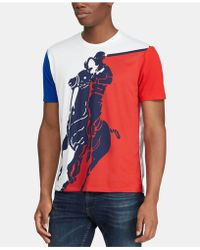 Polo Ralph Lauren - Active Fit Big Pony Graphic T-shirt - Lyst