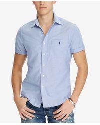 Polo Ralph Lauren - Big & Tall Classic Fit Sport Shirt - Lyst