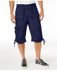 Sean John - Shorts, Classic Flight Cargo Shorts - Lyst