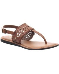 Madeline Girl Icon Flat Sandals - Brown